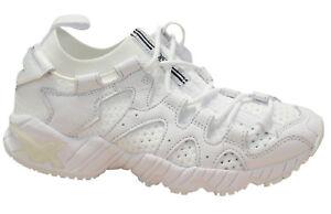 U13 hombre para 0101 Gel y H8g3n Knit con cordones calcetines Zapatillas blancos mai Asics X8qBO
