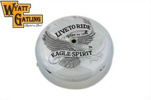 Chrome-7-034-Air-Cleaner-Cover-Eagle-Spirit-for-Harley-Touring-Softail-Dyna