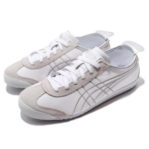 Asics 1183a349 100 Retro Onitsuka Shoes White Mexico Running 66 Tiger Silver UTrqU1