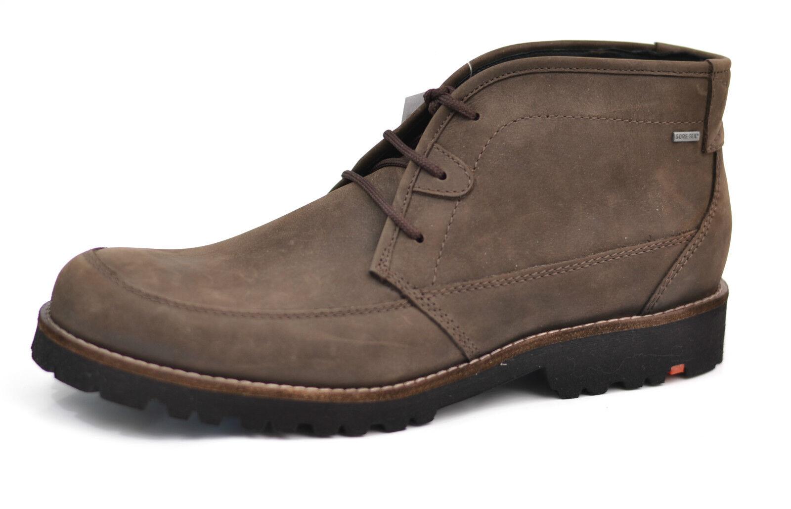 Lloyd Schuhe Herren Stiefel Stiefel Borneo braun Goretex NEU rotUZIERT 10