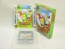 LEGEND OF ZELDA Yume Dream DX 1.1 ref/bcb Game Boy Color Nintendo Japan Boxed gb
