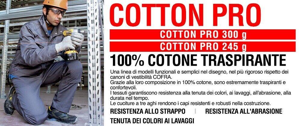 Immagine 3 - Giacca-da-lavoro-COFRA-modello-BATNA-100-cotone-300-g-m-edilizia-industria