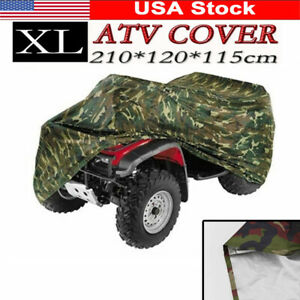 Xl Camouflage Atv Waterproof Cover For Fuzion Polaris Honda Yamaha Can Am Suzuki Ebay