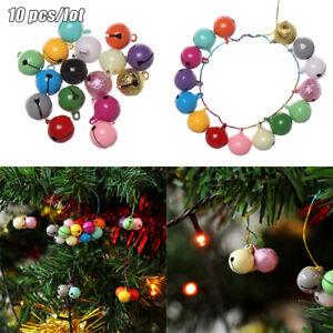 DIY Christmas Ornaments Hanging Bells Xmas Tree Decor Hanging Jingle Pendant