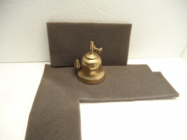 Vintage Antique Brass Gardon Macon Oil Finger Lamp Light 19th Century French