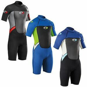 Osprey-Origin-3mm-Shorty-Wetsuit-Boys-Junior-Neoprene-Wet-Suit-Summer-Shortie