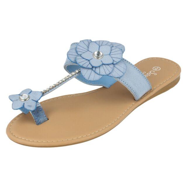 Savannah F1R0558 Navy Ladies Open Toe Sandal 11A