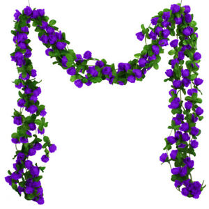 Am-Simulated-Rose-Vine-Garland-Garden-Party-Festival-Wedding-Home-Ball-Office-D