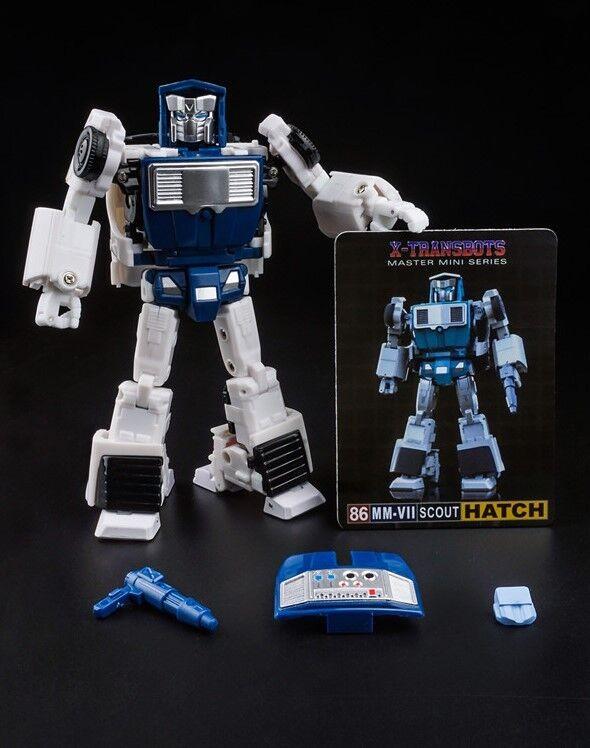 nuovo Xtransbots Transformers mmVII Tratteggio PORTELLONE cifra in magazzino