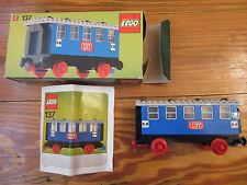 LEGO Eisenbahn alt 4,5V / 12V  Set 137 BDA OVP