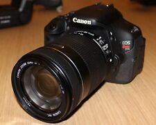 Canon Rebel T3i SLR Camera W/ 55-250 Lens Kit with accessories. Freeshipping!