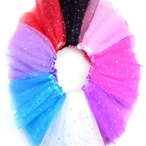 Enfants d/'été Baby Star Glitter danse Tutu jupe pour les filles