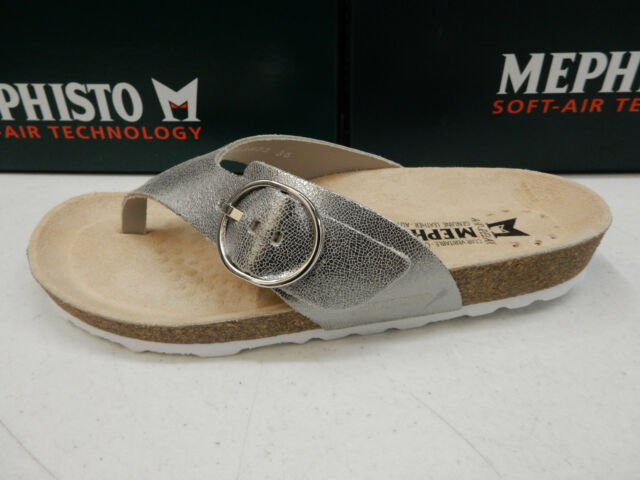 7ac77b1fd9 Mephisto Womens Natalina Silver Size EU 39 (us-9) for sale online | eBay