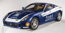 Ferrari 599 GTB Fiorano Panamerican 20.000 Blue scale 1:18 ELITE Hotwheels NEW !