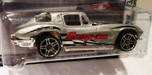 63 Split Window Corvette >> Hot Wheels Snap On Tools 63 Split Window Corvette 3 6 Damaged