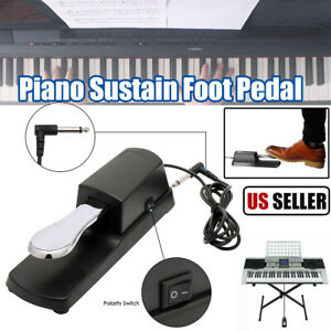 Universal-Piano-Sustain-Pedal-Foot-Switch-for-Casio-Yamaha-Roland-Keyboard-USA