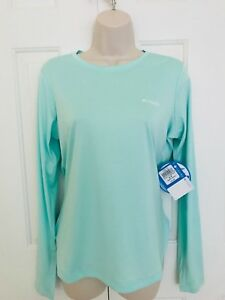 NEW-Columbia-Women-s-PFG-ZERO-LONG-SLEEVE-SHIRT-XS-S-M-L-XL