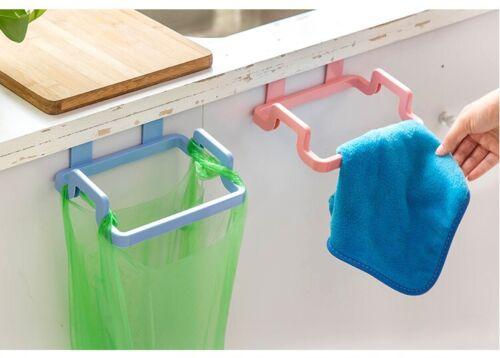 Hanging Hanger Bin Sac Sac en Plastique Transporteur Rubbish Trash ordures cuisine