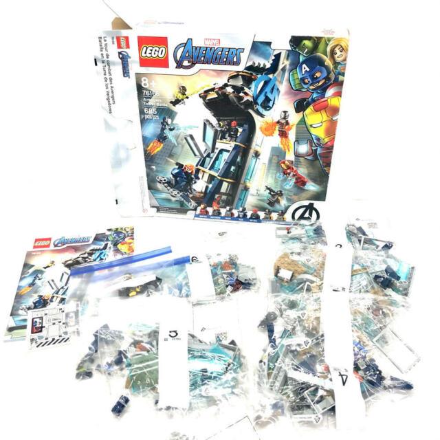LEGO Marvel Avengers: Avengers Tower Battle 76166 Open Box See Desc