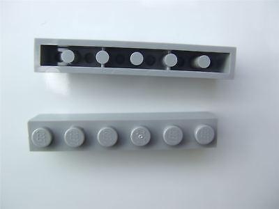 4211392 basic building block 1x8 Light Grey//50 Piece Lego ® No