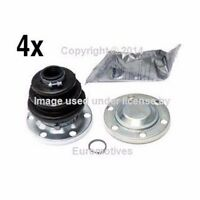 Bmw E21 (80-83) Axle Boot Kit Rear In+out (x4) Cv Joint Constant Velocity on sale