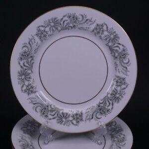 8 Spode Chèvrefeuille Noir Blanc Finition Doré 15.6cm Pain Assiette Y7928 2S0MaFd2-09114526-670602186