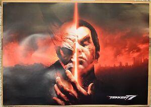 Tekken 7 Official Rare A2 Promotional Landscape Poster Not A