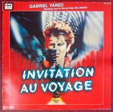 Invitation Voyage 33 tours Gabriel Yared 1982