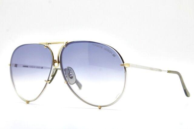 PORSCHE DESIGN by CARRERA 5623 72 ORO-ARG. vintage occhiali da sole sunglasses