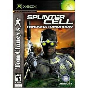 Tom-Clancy-039-s-Splinter-Cell-Pandora-Tomorrow-Xbox-Video-Game-VERY-GOOD