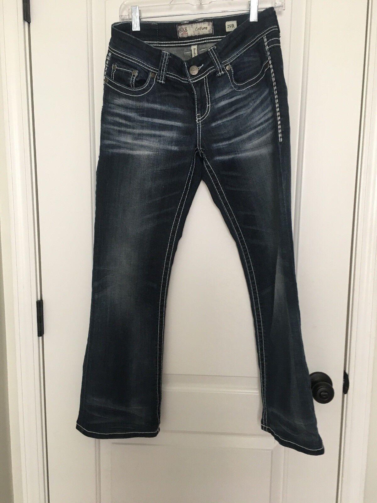 BKE bluee Denim Culture BootCut Women's Jeans Sz 29 X 31 1 2 Pants Clothes