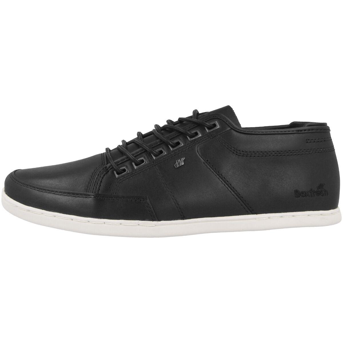 Boxfresh Sparko Premium ICN Zambia Leather Sneaker Leder Schuhe black E15240