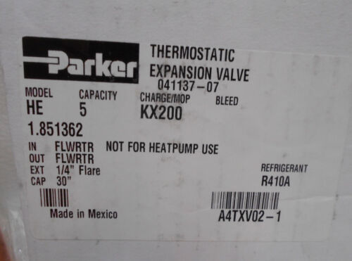 Allied Air Enterprises A4TXV02-1 Expansion Valve 1.851362 R410A