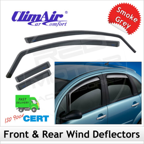 CLIMAIR Car Wind Deflectors RENAULT GRAND SCENIC Mk3 2009-2016 SET of 4