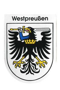 Aufkleber Sticker Wappenaufkleber Preussen verschiedene Motive Preußen