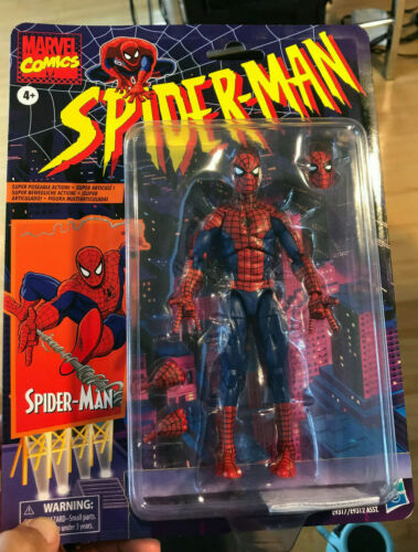 "Marvel Legends 6/"" Super Posable 2020 Spider-Man Retro Vintage New Sealed On Card"