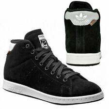 plain black velcro trainers