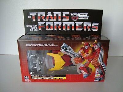 Transformers G1 Hot Rod Reissue Walmart MISB NEW
