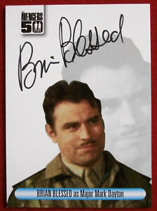 THE-AVENGERS-50th-Brian-Blessed-Autograph-Card-Unstoppable-2012-AVBB