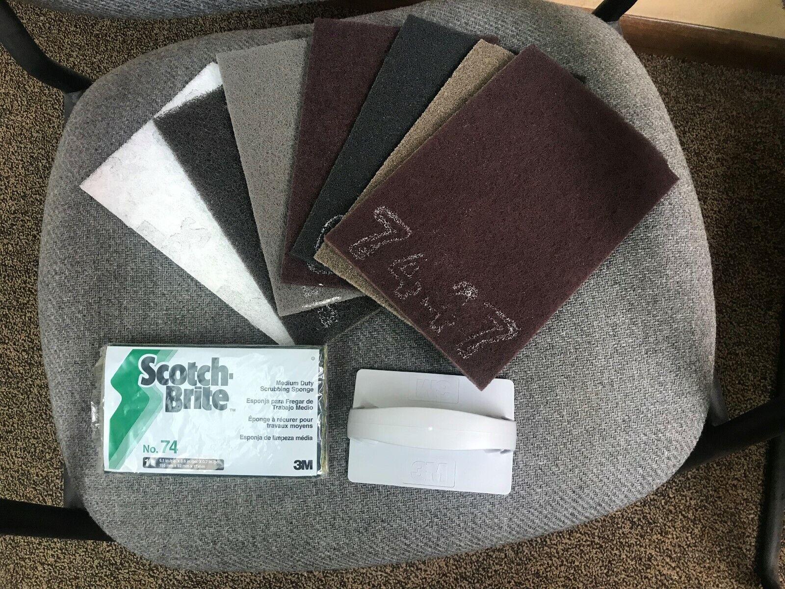 3M Scotch-Brite 17144 Hand Pad Trial Pack 961S 1 Pack