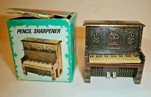 Vintage Die-Cast Metal Figural Piano w/ Box (Made In Hong Kong)