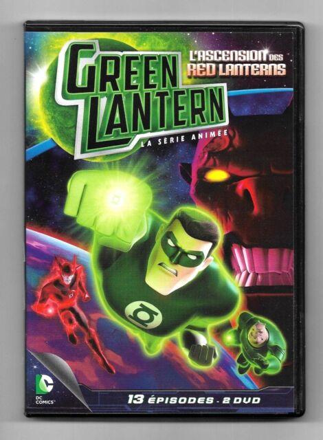 ESTUCHE 2 DVD / GREEN LINTERNA - ASCENSIÓN (13 EPISODIOS) DC COMICS COMO NUEVO