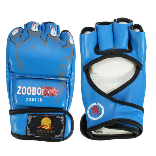 Grappling MMA Gloves Boxing Punch Bag Fight Muay Thai Training Mitts Sport GYM