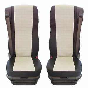 105CF Seat Covers 2 pieces DAF 105 XF
