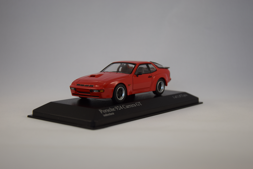 Porsche Miniature 924 Carrera Gt 1 43 Minichamps