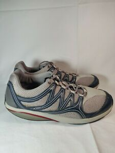 MBT-Men-039-s-Rocker-Sneakers-EU-46-US-12-12-5-Grey-Blue-Leather-Mesh-Toning-Walking
