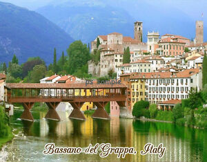 Italy bassano del grappa travel souvenir flexible fridge for Arredamenti bassano del grappa