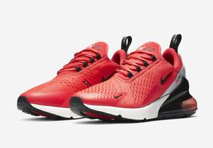 4cccc5e8b6 Nike Men's Air Max 270 Red Orbit Black Vast Grey Running Shoes ...