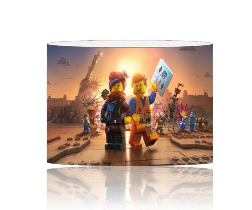 CEILING LIGHT SHADE KIDS FREE P+P 059 LEGO MOVIE 2 LAMPSHADE