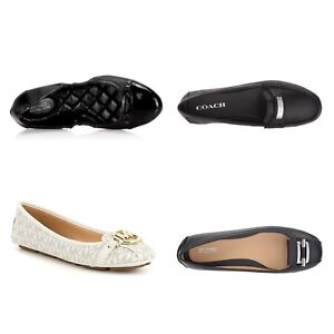 New-Michael-kors-Gloria-Moc-Fulton-Coach-Flats-Shoes-VARIOUS-STYLES-SIZE-7-8-5